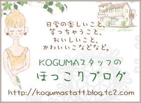 スタッフブログ始めました。